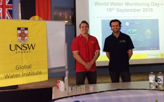 2018 Tomas Beuzen and Jamie Ruprecht World Water Monitoring Day