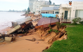 Collaroy storm damage
