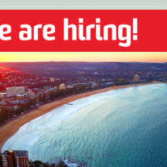 2018 Manly Beach_we are hiring
