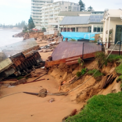 Collaroy storm damage