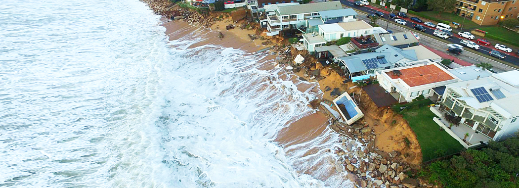 Narrabeen-Collaroy East Coast Low storm damage