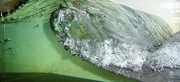 1 m wave flume 2