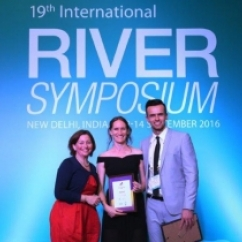 2016 finalist at the International River Symposium - Jamie Ruprecht