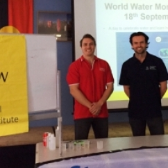 2018 Tomas Beuzen and Jamie Ruprecht World Water Monitoring Day