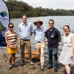 OceanWatch Australia Living Shorelines Program Oyster Bag Launch