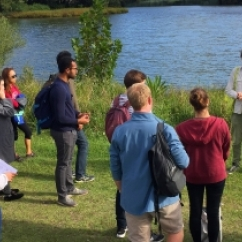 Recent student field trip to Centennial Park as part of the Urban Hydrology course.jpeg