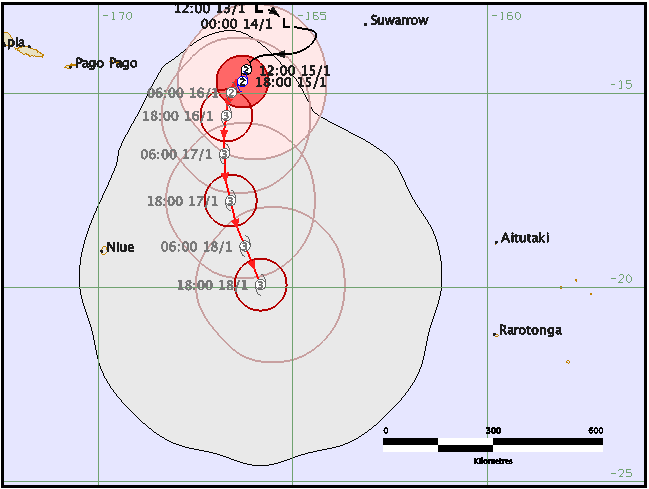 Severe tropical cyclone Victor