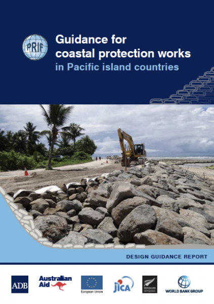 PRIF Guidance for coastal protection works in Pacific island countries