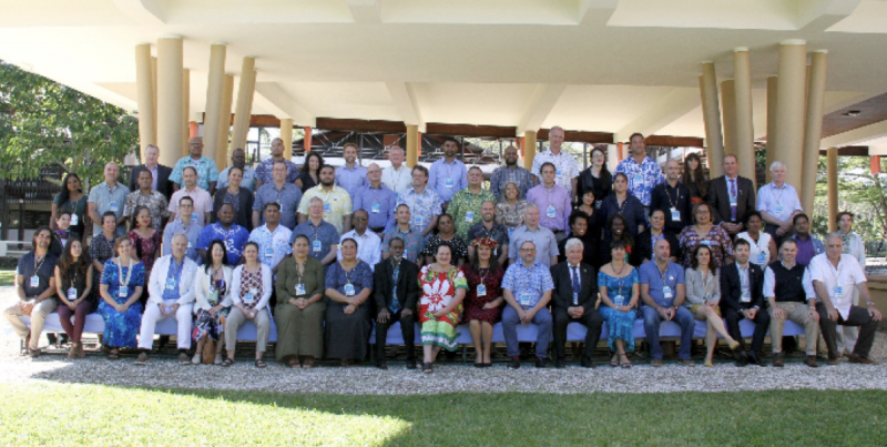 "Over 70 ""ocean experts"" from across the Pacific region attended the 3-day meeting. SPC Headquarters, Noumea, New Caledonia"