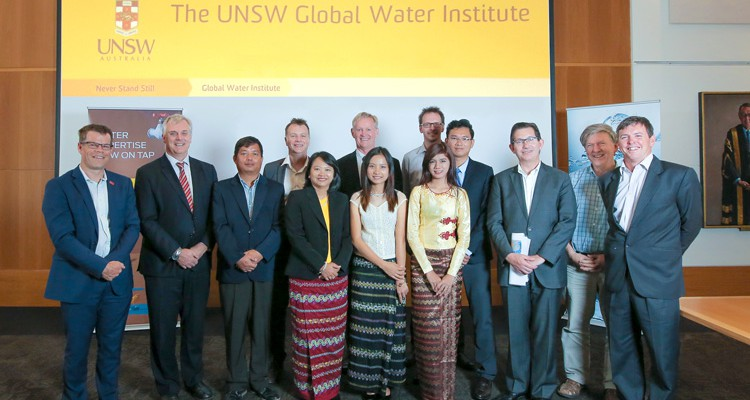 WRL hosts Myanmar Government's DWIR for River Hydraulic