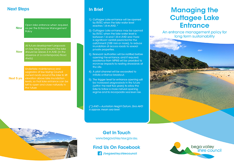 Bega Valley Shire Council Brochure